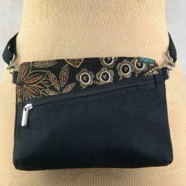 sac ceinture noir