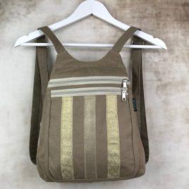 sac à dos beige