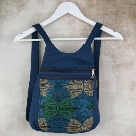 sac a dos bleu