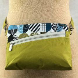 Pochette ceinture 3 en 1  lime et jacquard Menphis